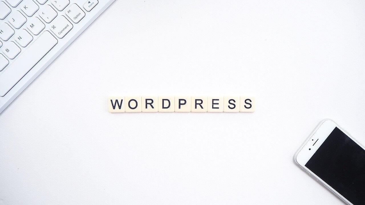 wordpressと書かれた画像