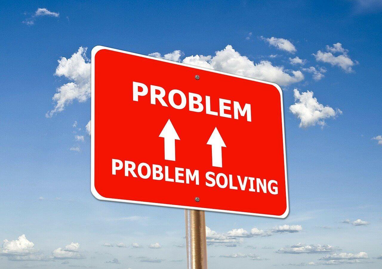 PROBLEM SOLVINGと書かれた画像